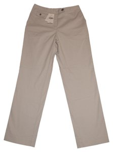 J. Jill Cropped Ankle Genuine Fit Capri/Cropped Pants Khaki