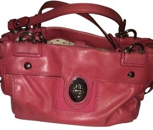 Coach Satchel in Mauve Rose