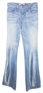 J Brand Flare 80s Mid-rise Boot Cut Jeans-Medium Wash