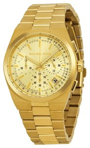 Michael Kors Gold tone Casual Design Stainless Steel Ladies Fashion Watch