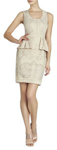BCBGMAXAZRIA short dress Light Corozo on Tradesy