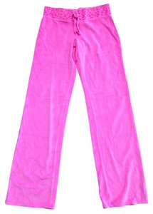 Victoria's Secret Velour Active-wear Boot Cut Pants Neon