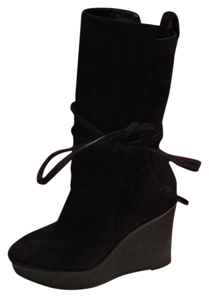 4e147cc24a78 Saint Laurent ~new Wedge Boots Booties Size US 6 Regular (M