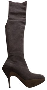 Brian Atwood Grey suede Boots