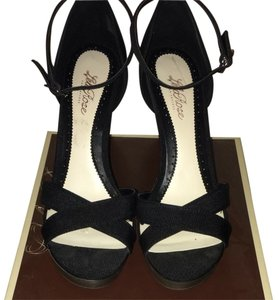 Lela Rose for Payless Black Wedges