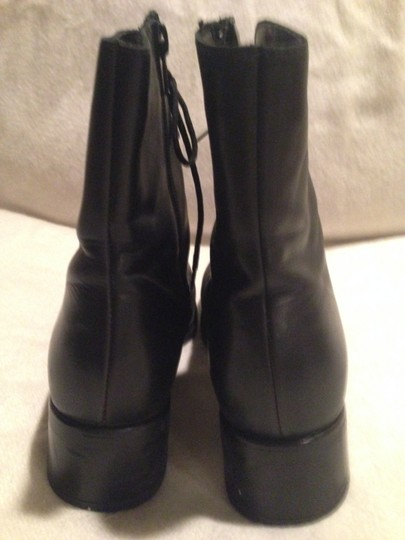 Nexday Leather Black Boots