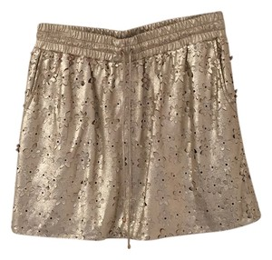 Leifsdottir Mini Skirt Gold