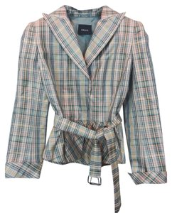 Akris Silk Punto Belted Jacket