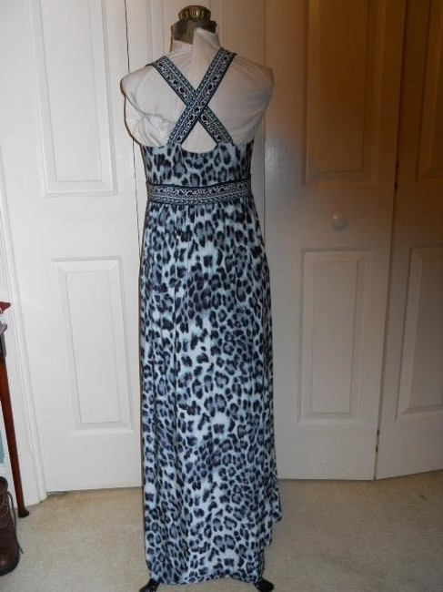 black & green multi Maxi Dress by INC International Concepts