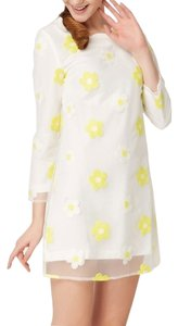 OSA short dress White Yellow on Tradesy