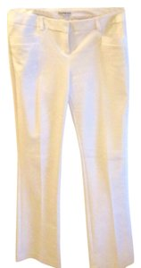 Express Straight Pants White