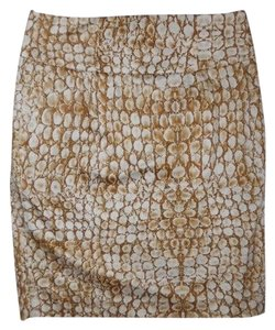 Adrienne Vittadini Skirt brown print