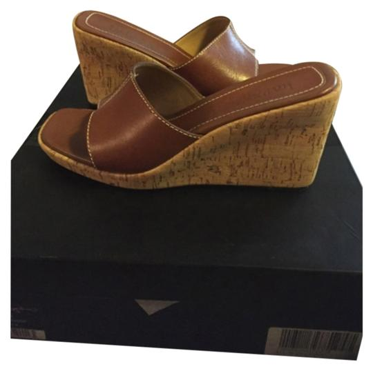 Preload https://img-static.tradesy.com/item/12063586/ralph-lauren-collection-by-brown-leather-wooden-wedge-heel-34-inches-platform-1-inch-worn-once-mules-0-1-540-540.jpg