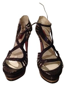 Cesare Paciotti Brown and Tan Sandals