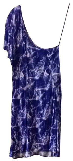 Volcom short dress Purple White on Tradesy