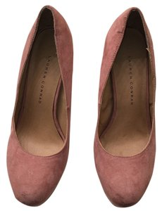 LC Lauren Conrad Blush/Dusty rose Platforms