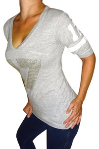 Victoria's Secret T Shirt Grey Gray