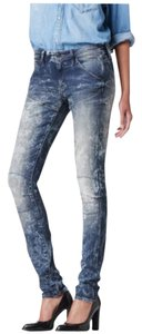 G-Star RAW Casual Comfortable Skinny Distressed Skinny Jeans