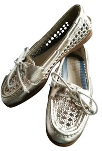 Sperry Light Gold Flats