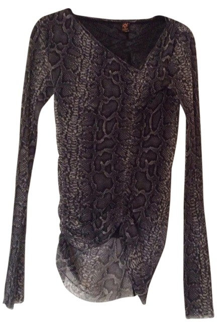 Preload https://img-static.tradesy.com/item/1206535/jean-paul-gaultier-gray-blouse-size-8-m-0-0-650-650.jpg