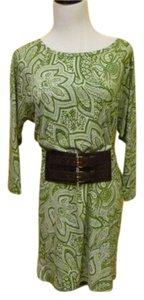 Michael Kors short dress Green Vine Buckle Belt Brand New on Tradesy