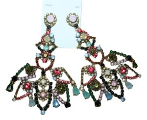 J.Crew J.CREW CRYSTAL LACE EARRINGS