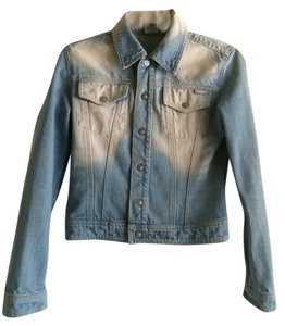 Versace Coutur Light blue jeans Womens Jean Jacket