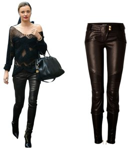 Balmain Skinny Pants Black