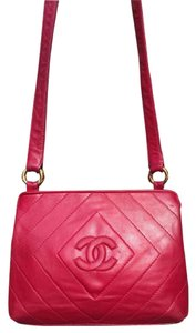 Chanel Vintage Leather Cross Body Bag