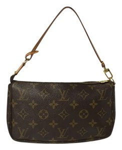 Louis Vuitton Pouch Pouchette Speedy Akaju Clutch