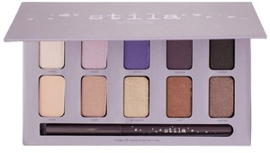 Stila Stila In the Moment Eye Shadow Palette with Full Size Smudge Stick in Tetra