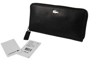 Lacoste Lacoste Chantaco Black Zip Around Wallet