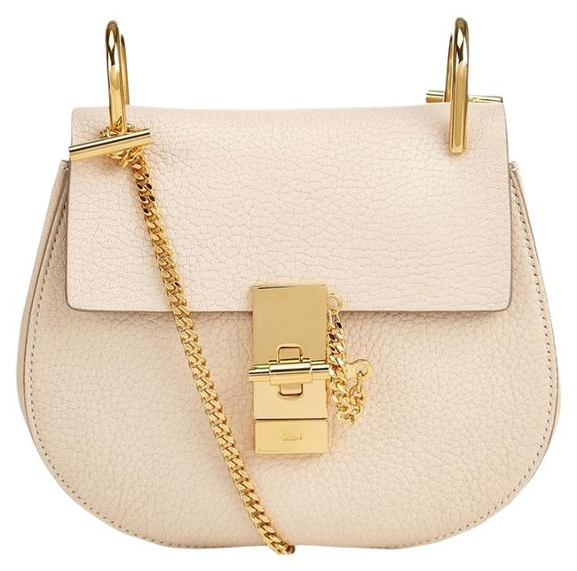Item - Drew Mini In Abstract White Leather Cross Body Bag