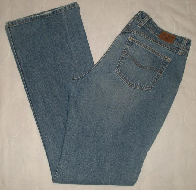 """BKE Classic 5 Pocket Style * Mid Rise * Whiskering & Slight Distressing Detail * Machine Washable * Zip Fly * 3"""" Vent Slits Boot Cut Jeans-Medium Wash"""