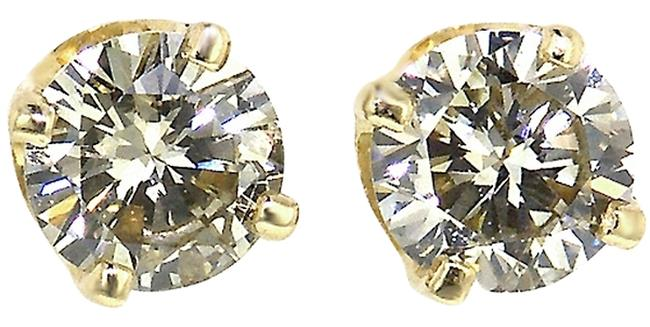 Item - L/Si2 Round Diamonds Solitaire Studs Earrings 1/5 .16 Ct Natural Bright Usa Co Yg Necklace