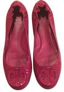 Tory Burch Hibiscus Pink Flats