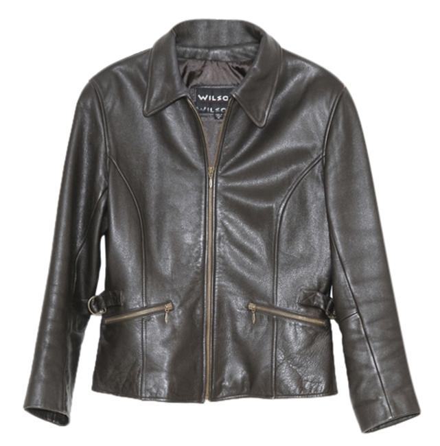 Preload https://img-static.tradesy.com/item/1206914/wilsons-leather-brown-jacket-size-8-m-0-0-650-650.jpg