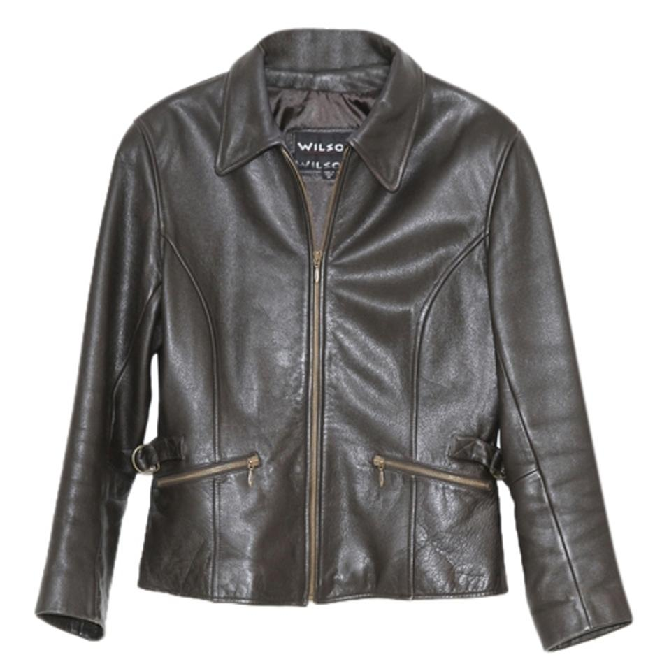 Leather jacket size 8