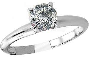 ABC Jewelry 3/4 Ct Round Diamond Solitaire Engagement Ring .73 White Gold 100% Usa Company