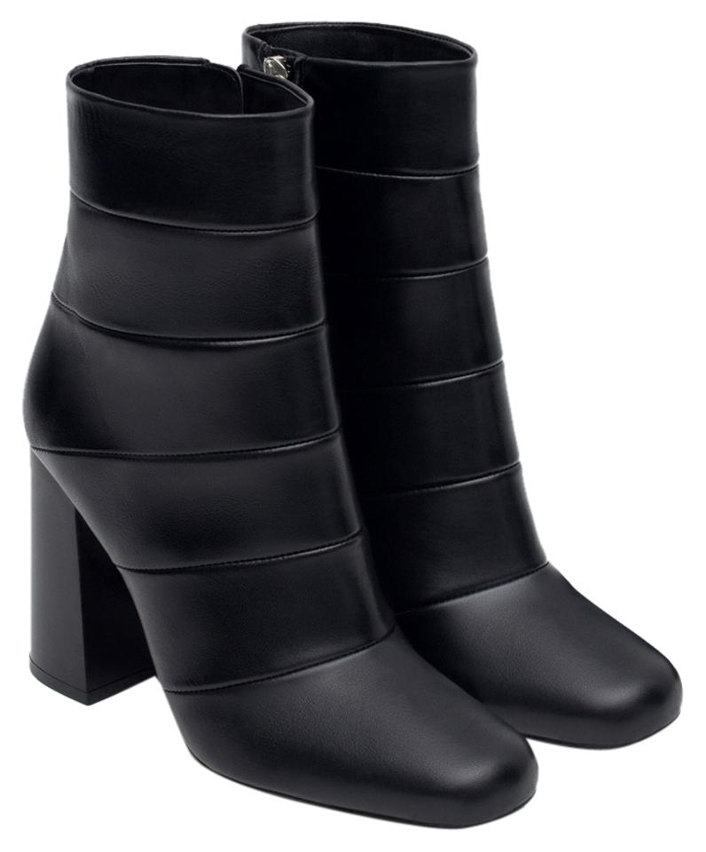 22192531455 Zara Black New Tags Leather Heels Ankle Boots Booties. Size  US 9 ...