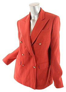Ralph Lauren Doublebreasted Red Blazer