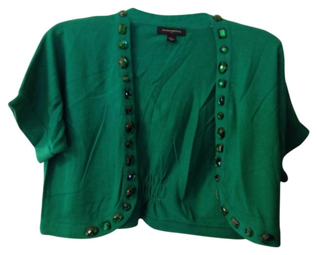 Item - Green Cardigan Size 14 (L)