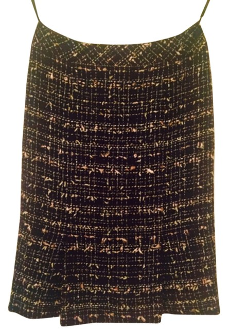 Item - Black Pink and Silver Fillings . Classic Tweed Skirt Size 2 (XS, 26)