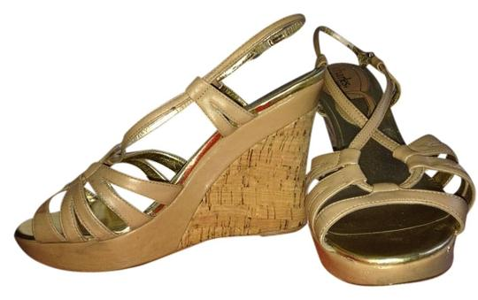 Charles David Nude Wedges