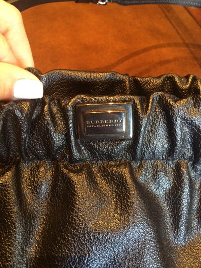Burberry Leather Vintage Smallbag Black Clutch