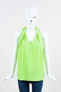 Diane von Furstenberg Lime Top Green