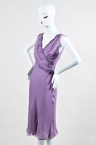 Alberta Ferretti Lavender Dress