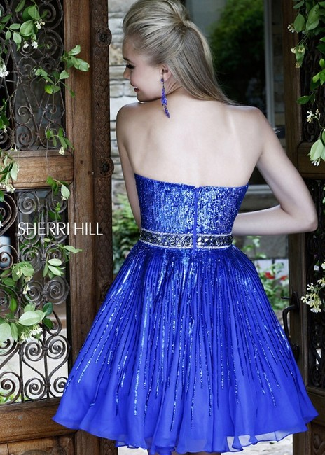 Sherri Hill Homecoming Size10 A-line Dress