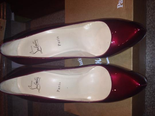 Christian Louboutin Burgundy Pumps