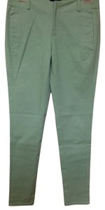 Kate Spade Modern Easy Skinny Pants Celadon Mint Green